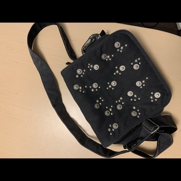 Spring Black Crossbody Bag